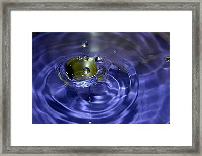 Gimme 3 Drops... Of Water Framed Print