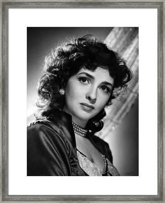 Gina Lollobrigida, 1955 Framed Print by Everett