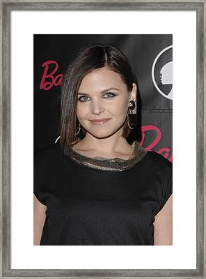 Ginnifer Goodwin At Arrivals For 50th Framed Print