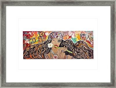 Gipsy Framed Print