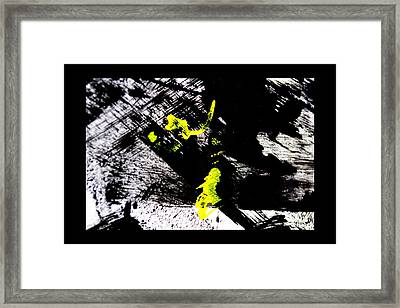 Girl And Her Cat Framed Print by Marie Jamieson