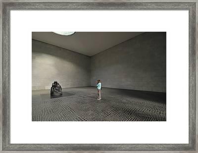 Girl Framed Print by Igor Sinitsyn