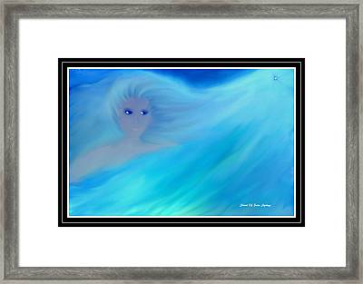 Girl In His Dreams Framed Print by Sherri's Of Palm Springs