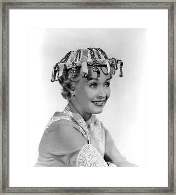 Girl Most Likely, The, Jane Powell, 1957 Framed Print