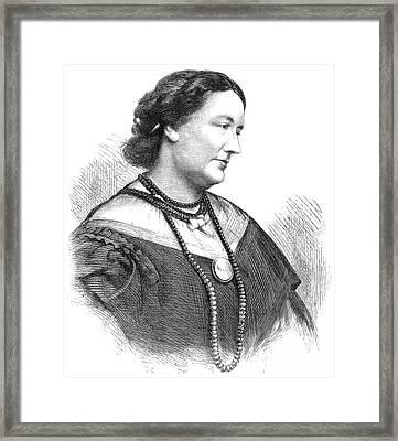 Giulia Grisi (1811-1869) Framed Print