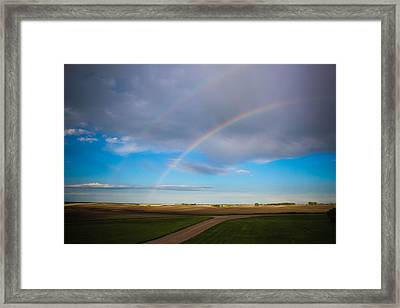 Give Me A Double Framed Print by Christy Patino