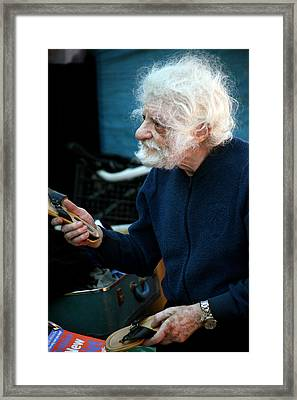 Give Me A Fair Price Please Framed Print by Jez C Self