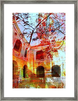 Give Me Room To Breathe Framed Print by Fania Simon