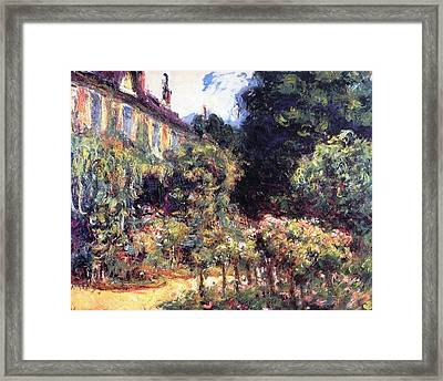 Giverny Framed Print by Claude Monet