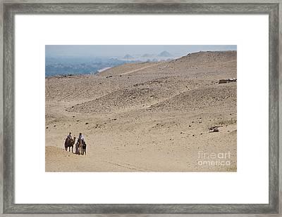 Giza Egypt Framed Print