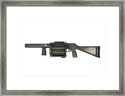 Gl6 40mm Grenade Launcher Framed Print