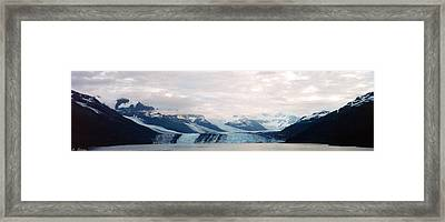 Glacier Bay Framed Print