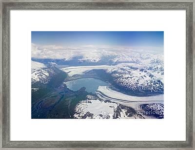 Glacier Lake Near Juneau Framed Print