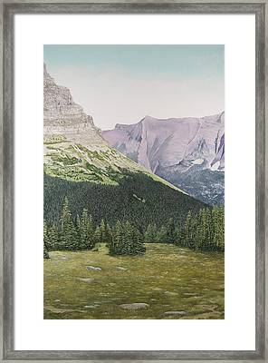 Glacier National Park Montana Framed Print
