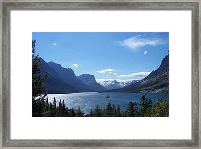 Glacier Park Framed Print