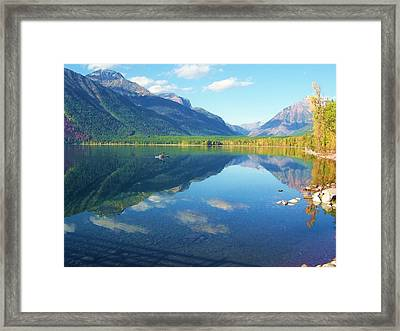 Glacier Park Magic Framed Print