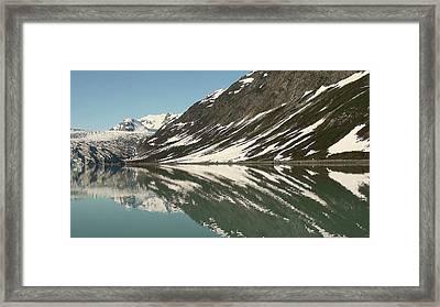 Glacier Receeding Framed Print