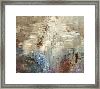 Glaciology Framed Print by Tatiana Iliina