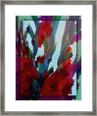 Framed Print featuring the digital art Glad by Richard Laeton