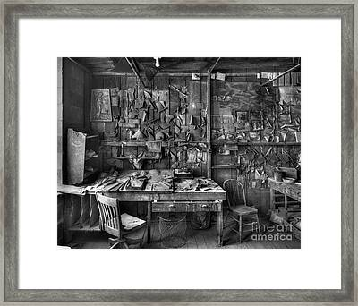 Gladding Mcbean Engineer's Room Framed Print by Ron Schwager