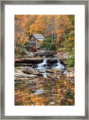 Glades Creek Mill Framed Print