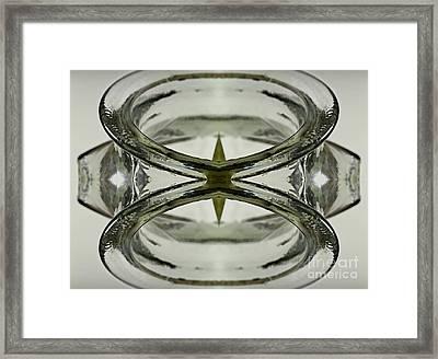 Glas Art Framed Print by Heiko Koehrer-Wagner