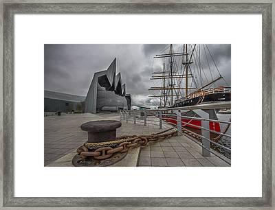 Glasgow Transport Museum  Framed Print by Fiona Messenger