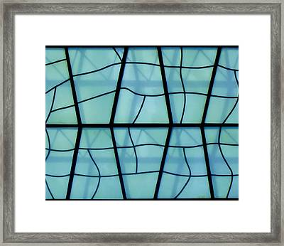 Glass And Shadows Framed Print by Roberto Alamino
