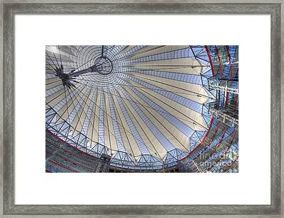 Glass And Steel Framed Print by Heiko Koehrer-Wagner