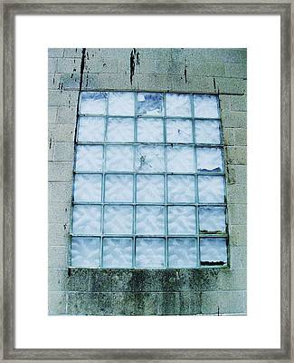 Glass Clouds Framed Print by Todd Sherlock