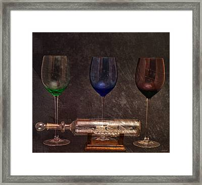 Glass Menagerie Framed Print by Peter Chilelli