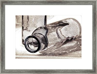 Glass Objects 2 Framed Print by Heiko Koehrer-Wagner