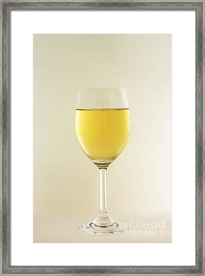 Glass Of Whine Framed Print by MotHaiBaPhoto Prints