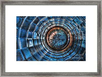 Glass Series 3 - The Time Tunnel Framed Print
