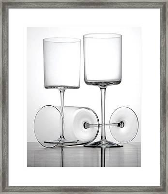 Glass Still Life Framed Print by Tony Ramos