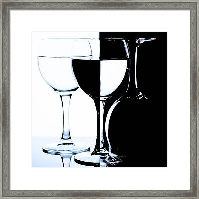 Glasses Framed Print by Dmitry Malyshev