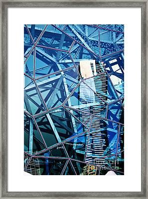 Glasshouse City Framed Print by Andrew Paranavitana