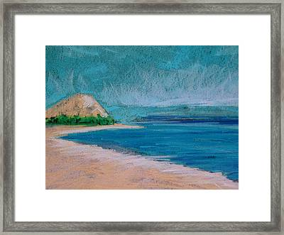 Glen Arbor Beach Framed Print by Lisa Dionne