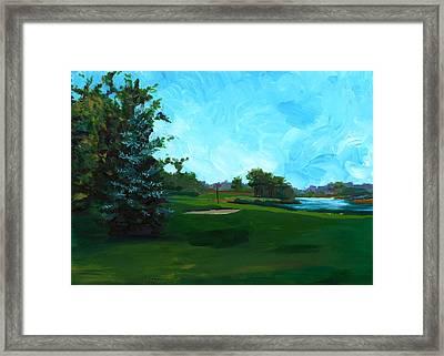 Glen Eagle Golf Course Framed Print
