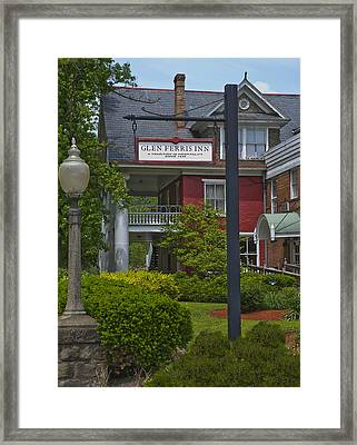 Glen Ferris Inn Framed Print