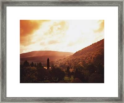 Glendalough, County Wicklow, Ireland Framed Print