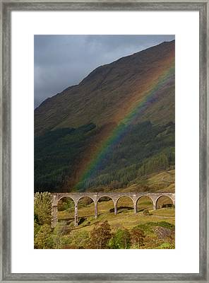 Glenfinnan Viaduct Framed Print by © Alexander W Helin