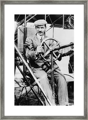 Glenn H. Curtiss 1878-1930, Aviation Framed Print