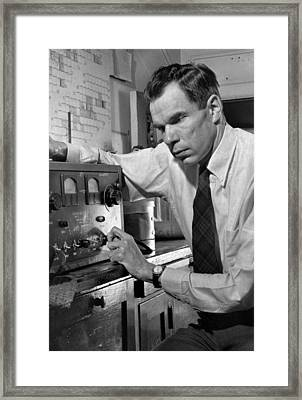 Glenn Seaborg 1912-1999, Won The 1951 Framed Print by Everett
