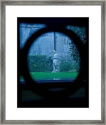 Glimpse Framed Print by Phil Bongiorno