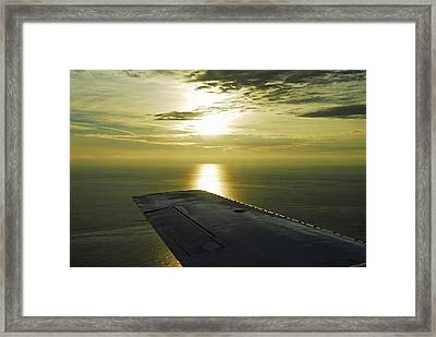 Framed Print featuring the photograph Glistening Waters by Dan Myers