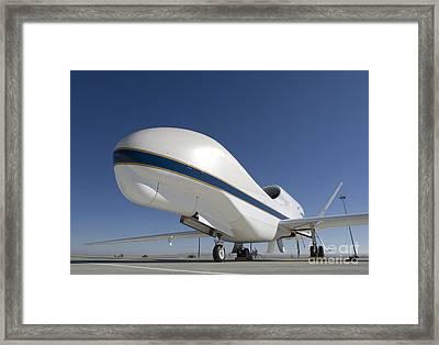 Global Hawk Unmanned Aircraft Framed Print by Stocktrek Images