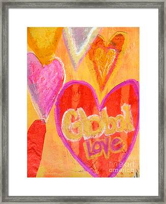 Global Love Framed Print
