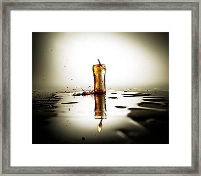 Global Warming Framed Print by Ivan Vukelic