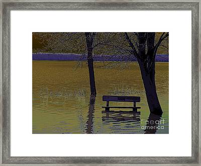 Global Warming Framed Print by Silvie Kendall